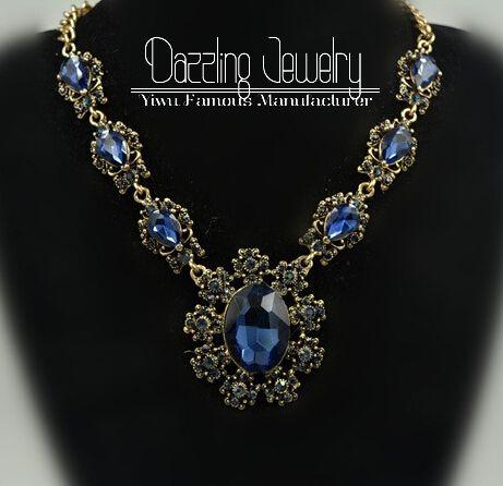 Nova marca de luxo moda colares para as mulheres 2014 de cristal declaração cadeia colares e pingentes declaração jóias colar em Colares com pingente de Jóias no AliExpress.com | Alibaba Group