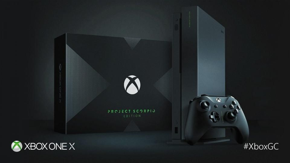 Xbox One X Project Scorpio Edition Pre Orders Are Nearly Sold Out Xbox One Xbox New Video Games