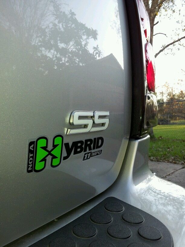 New Not A Hybrid Decal Lol