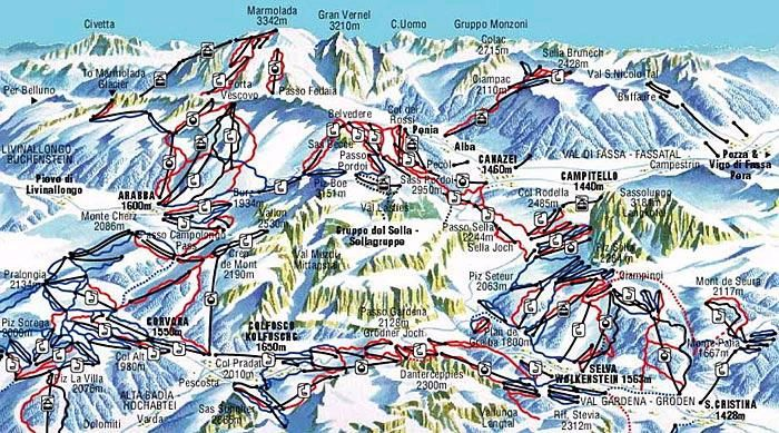 SKI MAP VAL GARDENA EBOOK