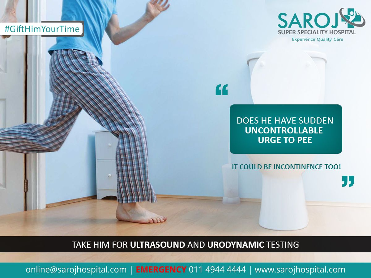 Urinary Urgency is the sudden urge to urinate, due to involuntary  contractions of the bladder muscle Frequent urinati… | Quality care, Health  awareness, Mens health