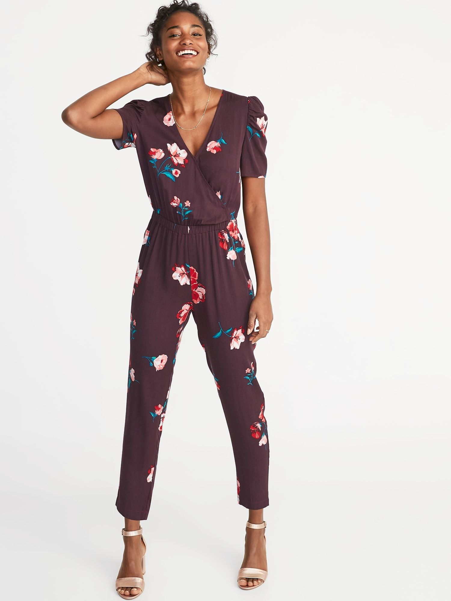 586727b40a4 Waist-Defined Jumpsuit for Women in 2019