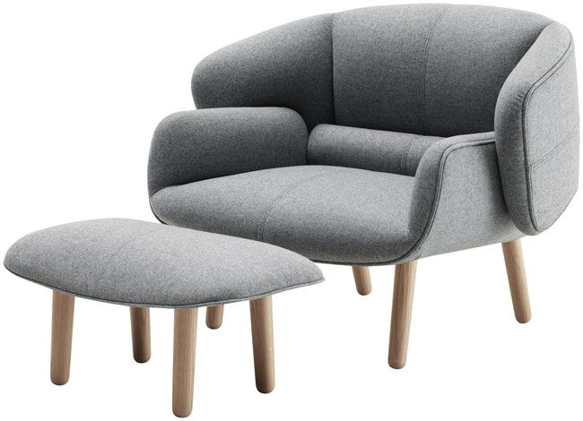 fauteuil fusion bo concept queremosinspirarte. Black Bedroom Furniture Sets. Home Design Ideas