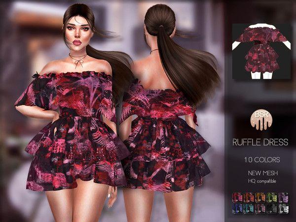 busra-tr's Ruffle Dress BD200