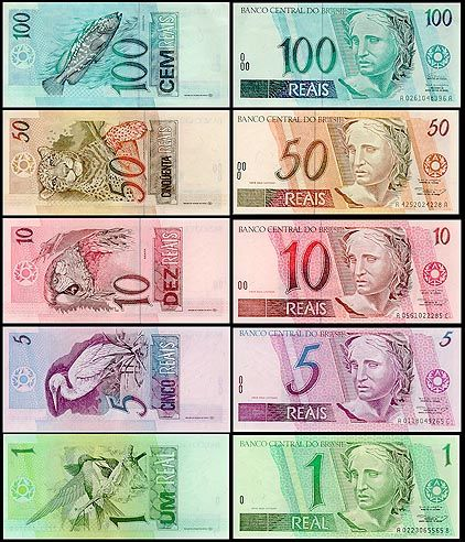Notes 257x3001 Brazil Currency Reciation A Real Concern 100 Dollar Money Bills