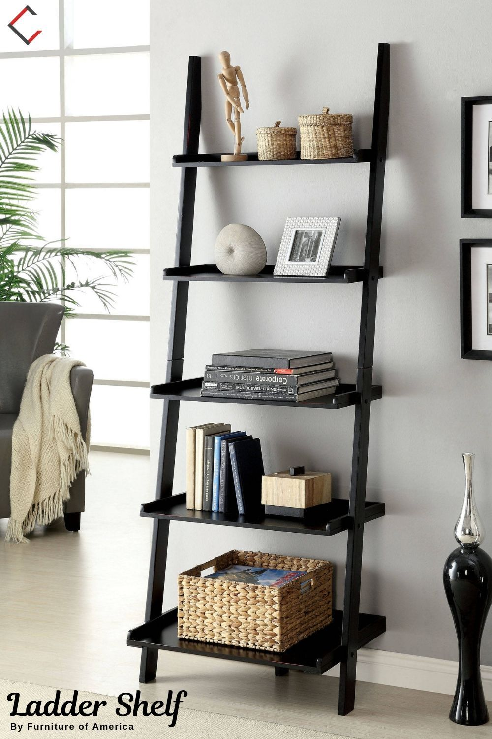 One Item Three Ways The One Versatile Piece Your Home Needs Ladder Shelf Decor House Plants Decor Trending Decor