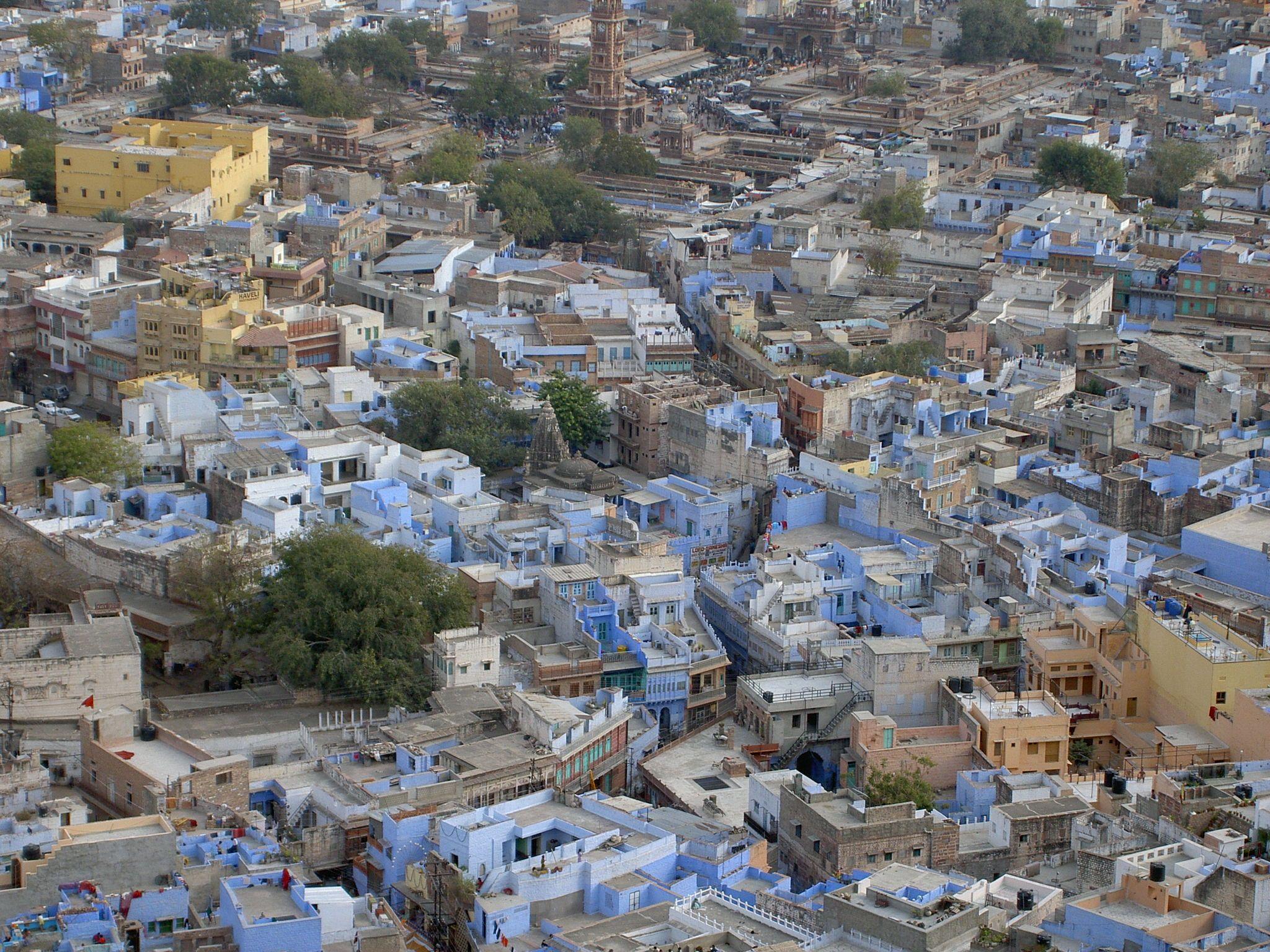 la città blu #Jodhpur #India