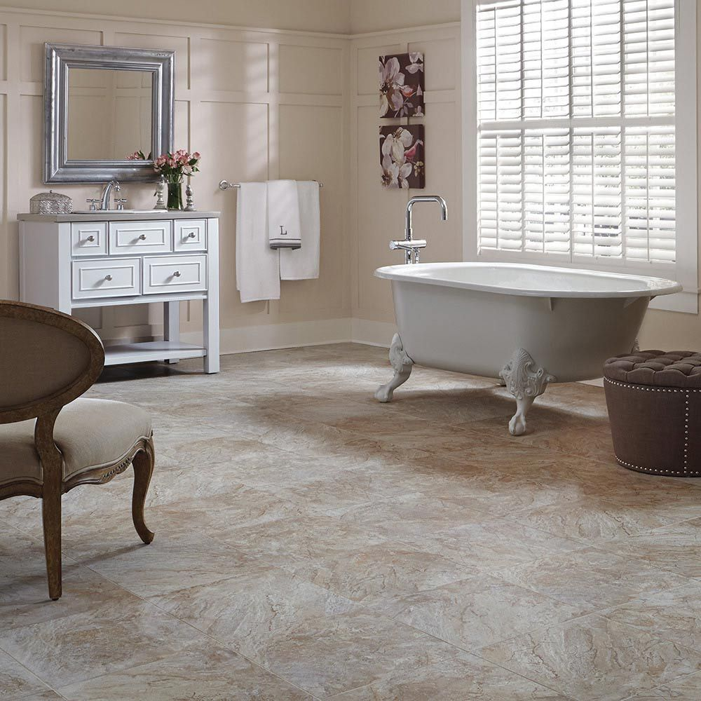 Adura Century Luxury Vinyl Tile Is A Classic Marble Look