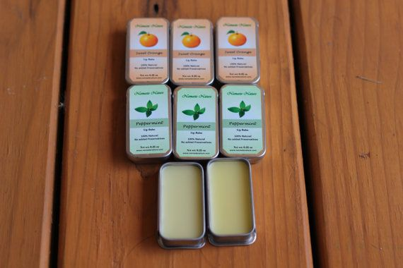 All Natural Lip Balm by namastenature. Explore more products on http://namastenature.etsy.com