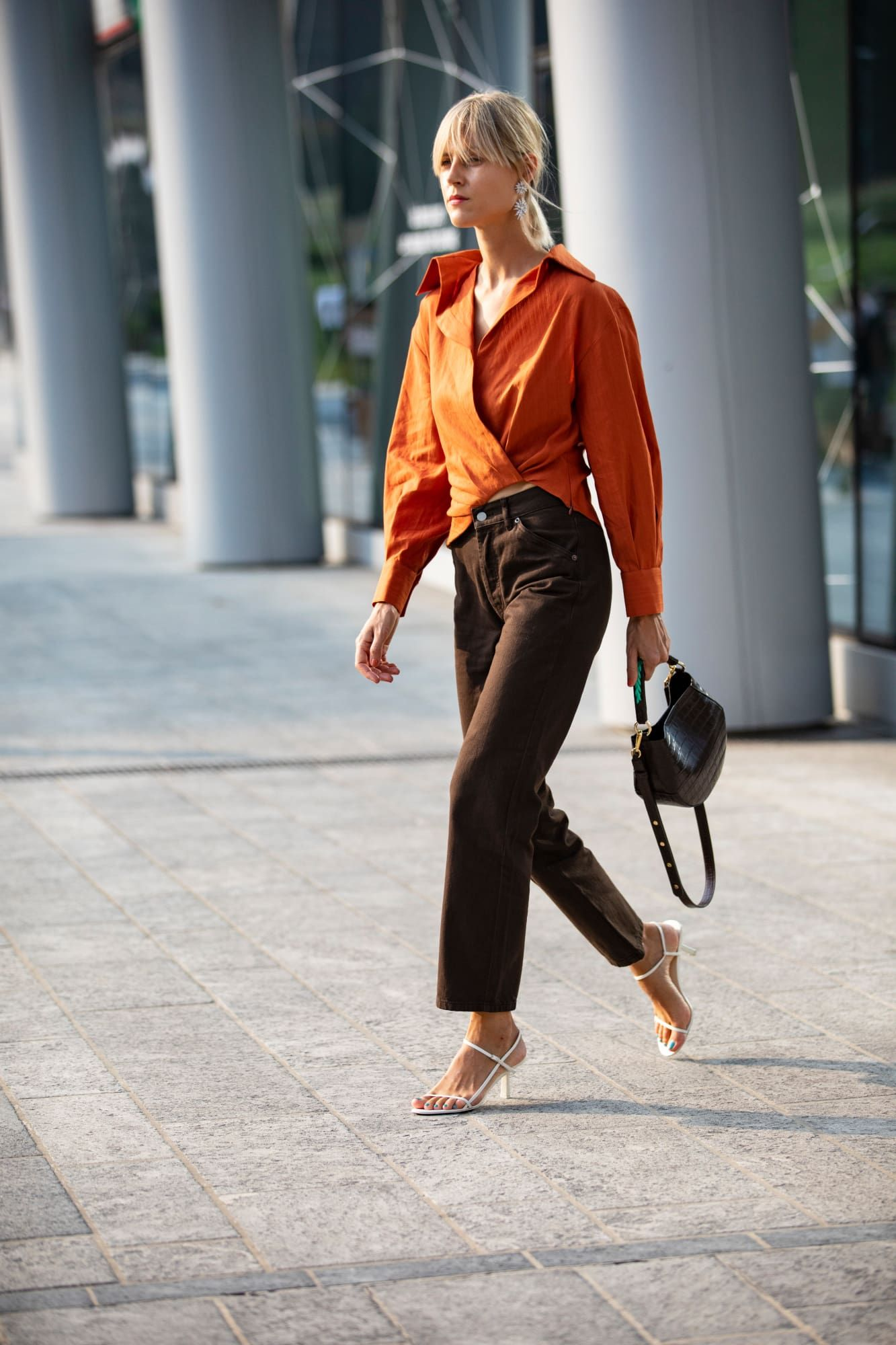 26b7e96c5667 The Best Street Style Looks From Milan Fashion Week Spring 2019 -  Fashionista