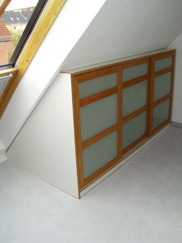 Kommode_Einbauschrank Dachgeschoss Pinterest Einbauschrank - kleiderschrank schiebeturen stauraumwunder
