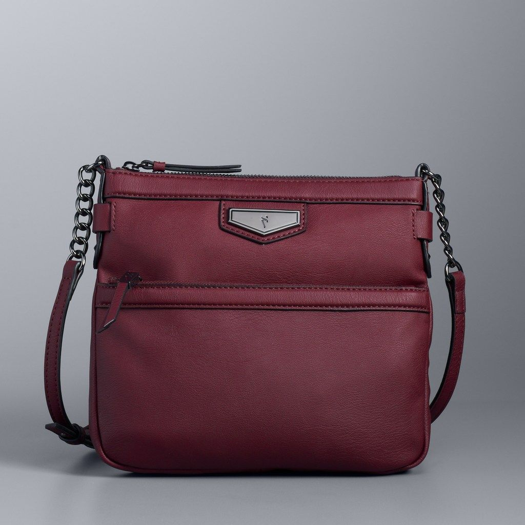 3504e009e8 Simply Vera Vera Wang Erie Crossbody Bag in 2019