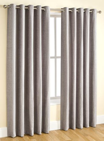 Essentials Chenille Curtain Silver Curtains Accessories Home Lighting Furniture Chenille Curtains Home Decor Bedding Curtain Accessories