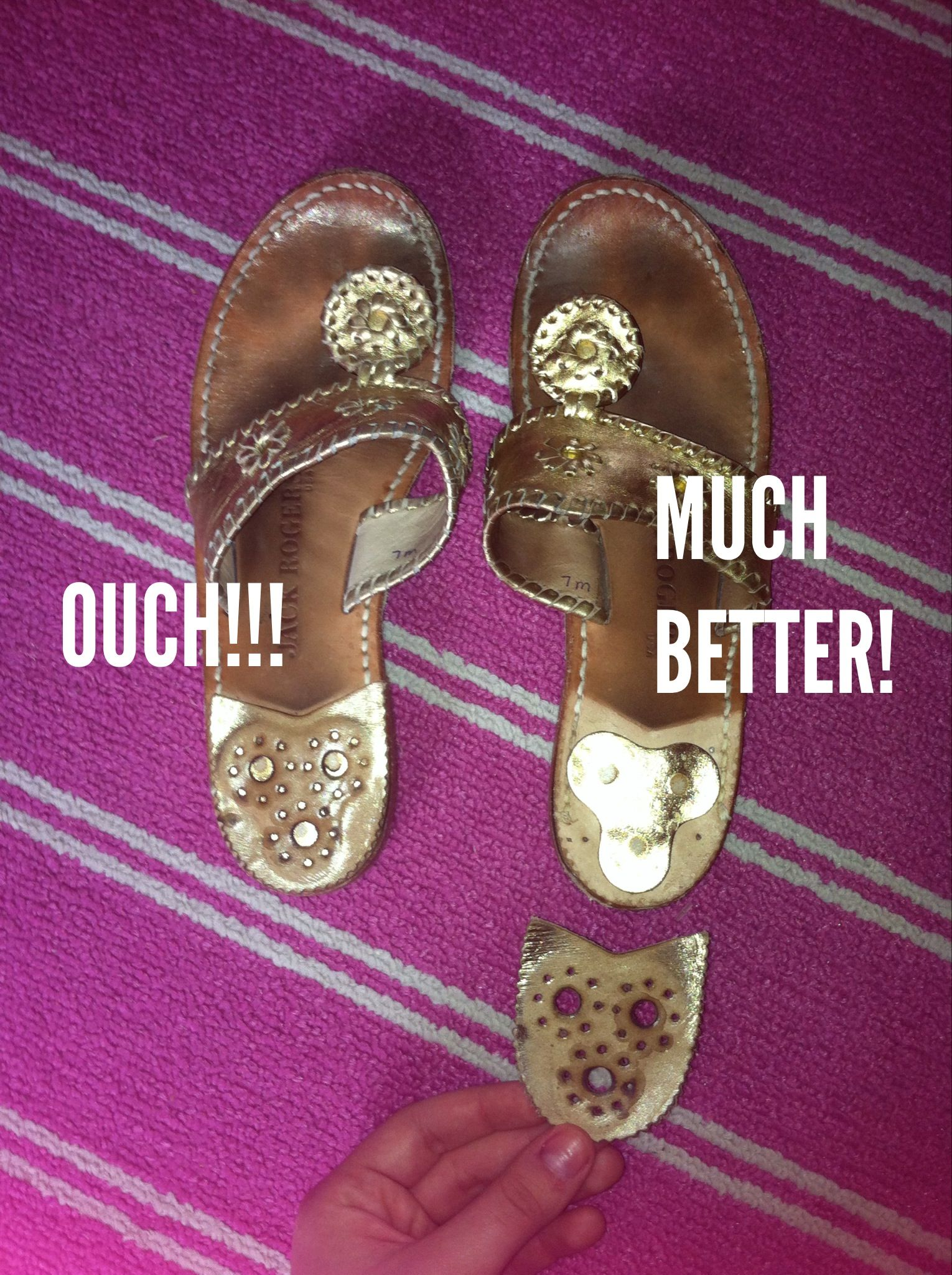 How to make your Simply Jack Rogers more comfortable! Simply your remove the ... 45b0ba