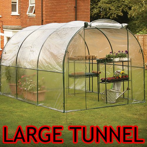 Pvc Clear Garden Polytunnel Cover Poly Tunnel Greenhouse