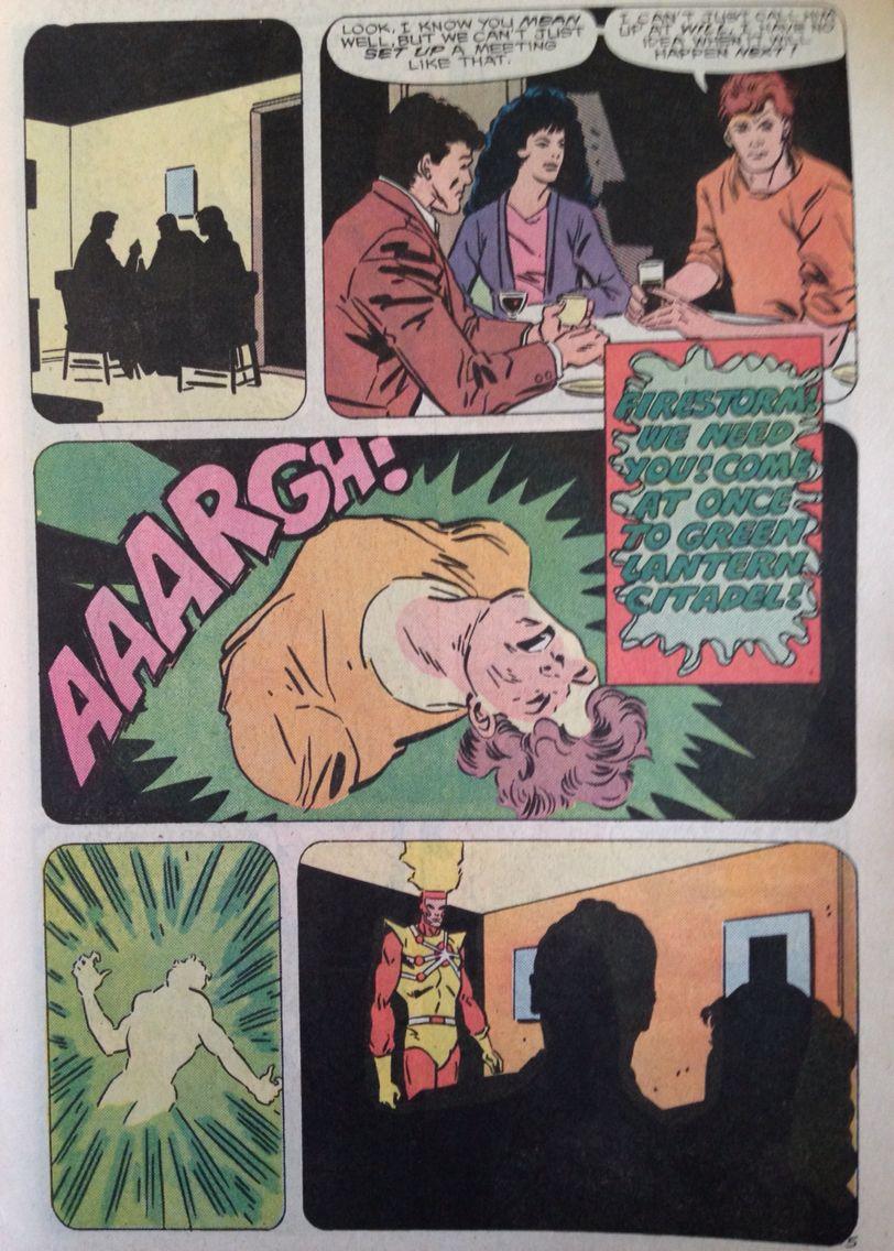 Felicity Smoak 17th appearance Fury of Firestorm #67: Dialogues. #Arrow #Olicity