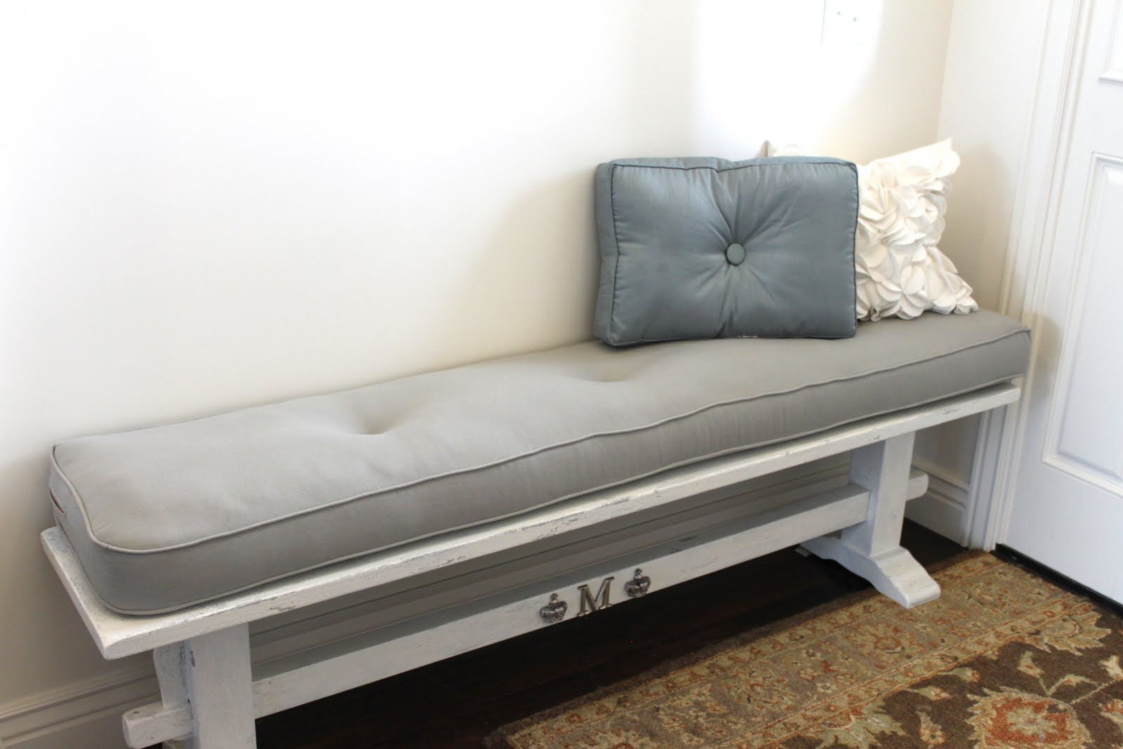 Using Bench Cushions Indoor For Lovely Home Furniture Ideas Bench
