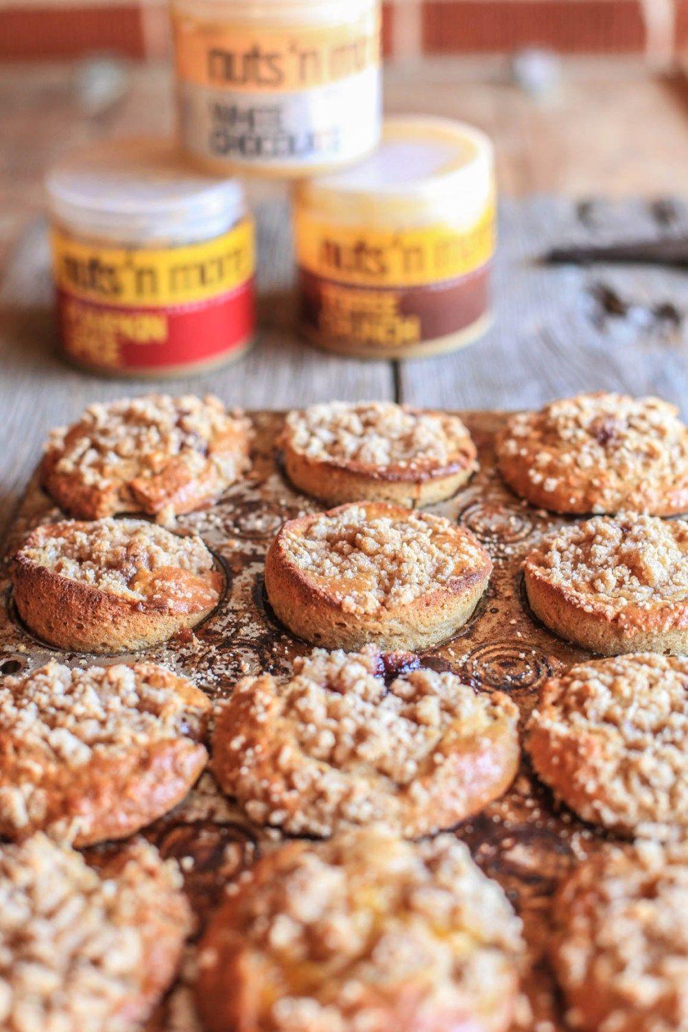 Peanut Butter & Jelly Crumb Muffins – Thegetfitgirlmiranda