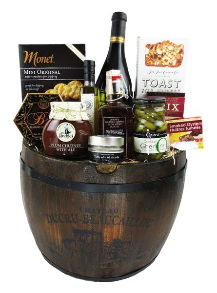 This is a very tasty gift basket with very cool items including truffle oil and salt