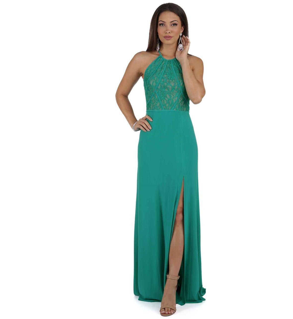 Jade Green Glitter Prom Dress | Glitter prom dresses, Green glitter ...