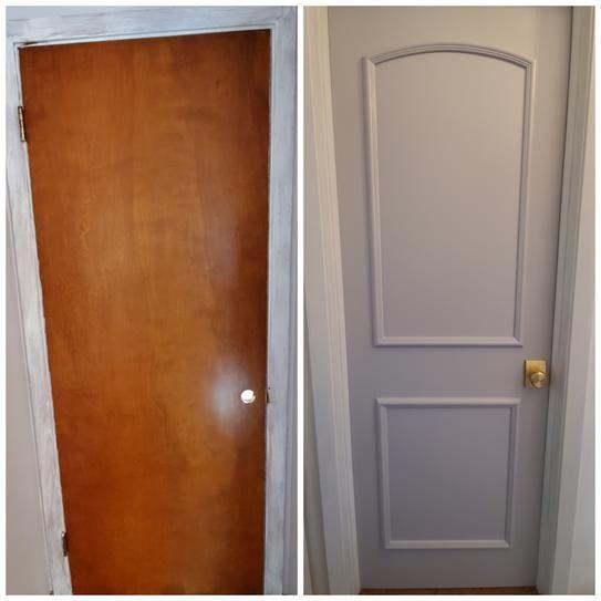 Ez Door 28 In 30 In And 32 In Width Interior Door Self Adhering Decorative Frame Kit Ezd Fr 30 The Home Depot Diy Interior Doors Door Makeover Diy Doors Interior