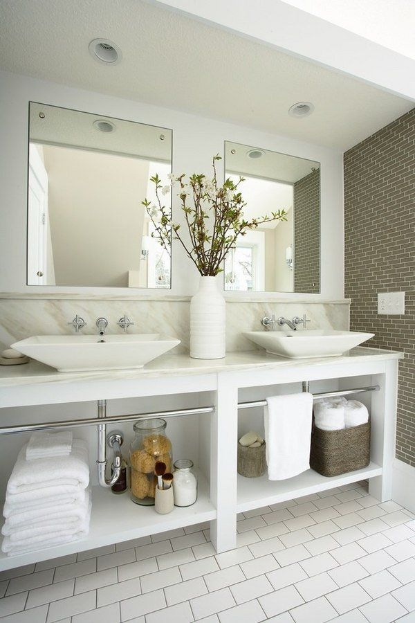 Large Powder Room Decor Ideas