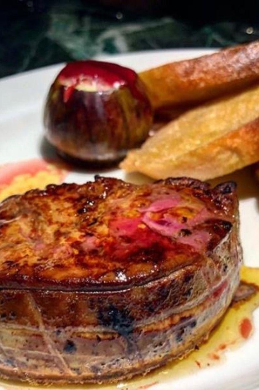 Pan Fried Foie Gras Food Food And Drink Food Menu