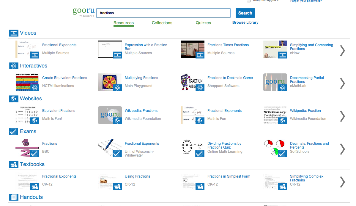 A Free Search Engine (@Gooru) for Learning! Try it… – Kleinspiration ...