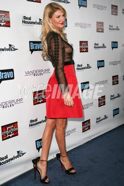 Brandi Glanville at the Beverly Hills Real Housewives Premiere  One hot mama Short Cocktail Dress for the single sexy dress    With Love,   Samantha and Co