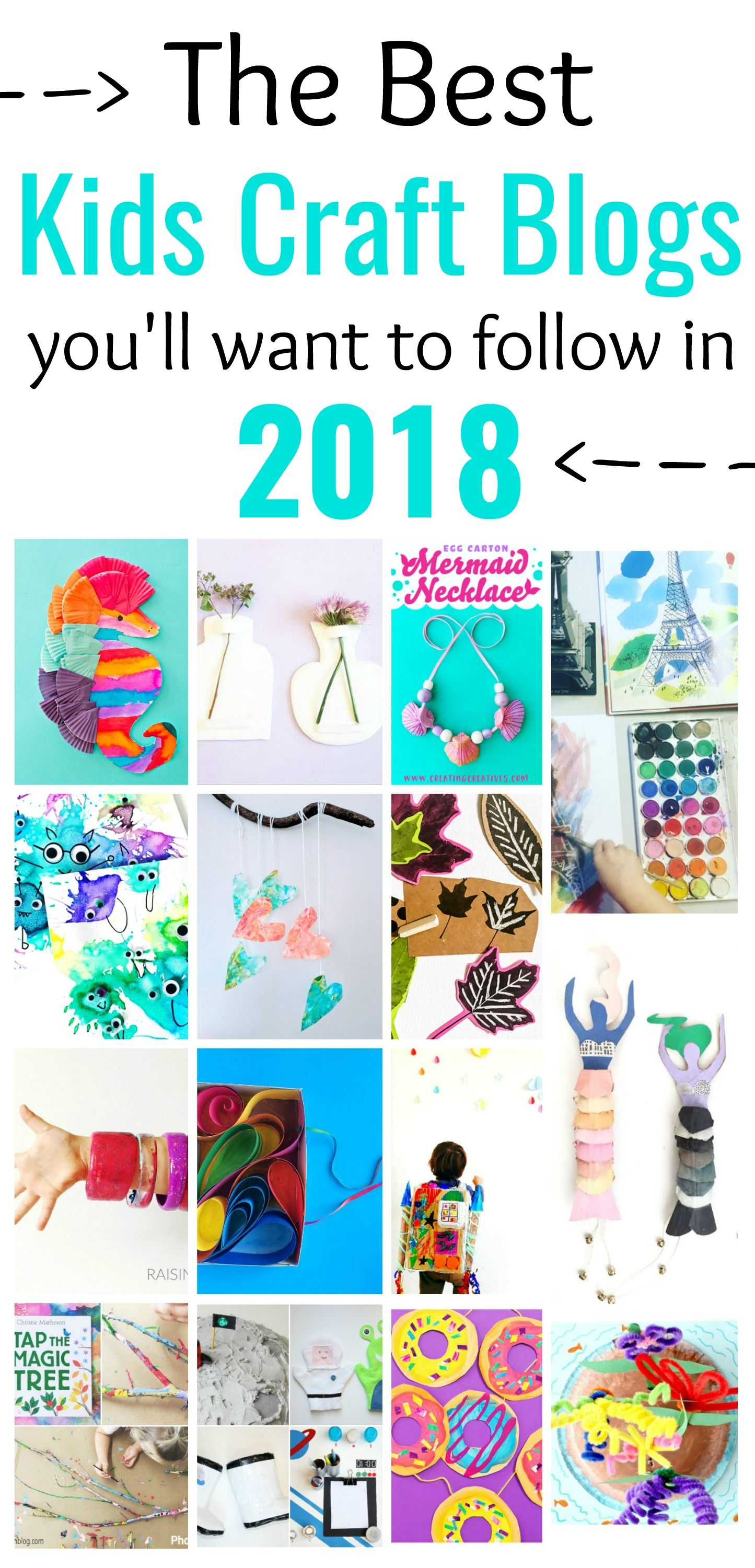 The Kids Craft Blogs You Need For 2018 Motherhood Pinterest