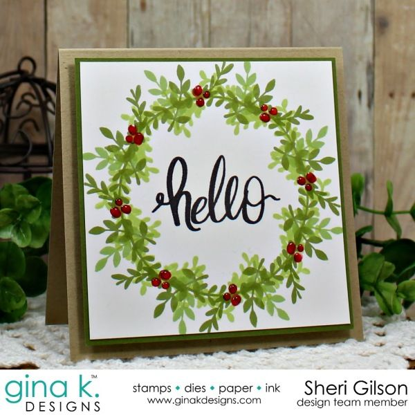 Wonderful Card Making Ideas Rubber Stamp Techniques Part - 13: StampTV - Card Making, Rubber Stamping Techniques And Project Videos For  Papercrafters   Gina K Wreath Builder   Pinterest   Rubber Stamping  Techniques, ...