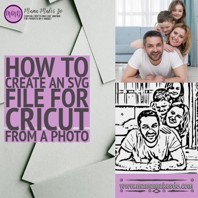 How To Create An Svg File For Cricut From A Photo In 2020 Svg Files For Cricut Cricut Cricut Tutorials