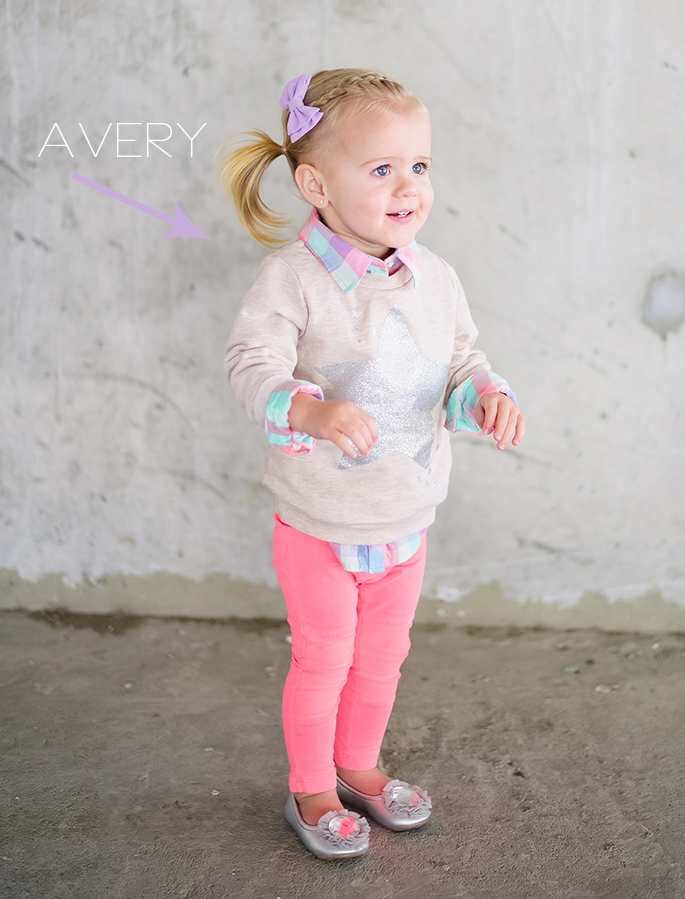 Crew Cuts Ivory Lane Children's Spring Looks: Part 2 ! I usually don't like pink on Nailea but OMG this is ADORABLE. LOVE this outfit.