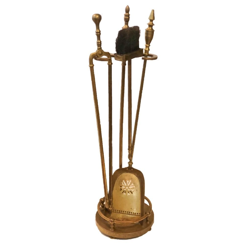 Groovy Antique Brass Fireplace Tools Set French Urn Antique Stand Download Free Architecture Designs Aeocymadebymaigaardcom