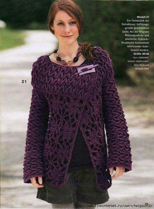 Cadaco Knitted Crochet Fashion 7 Pinterest Crochet Fashion