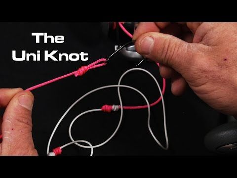 The only fishing knot you need the uni knot saltwater for Uni knot fishing