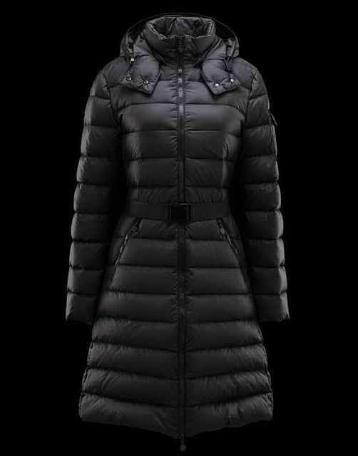 Women s Moncler Mokacine Black Coats online sale   Stuff to Buy ... 1cd8185faa2