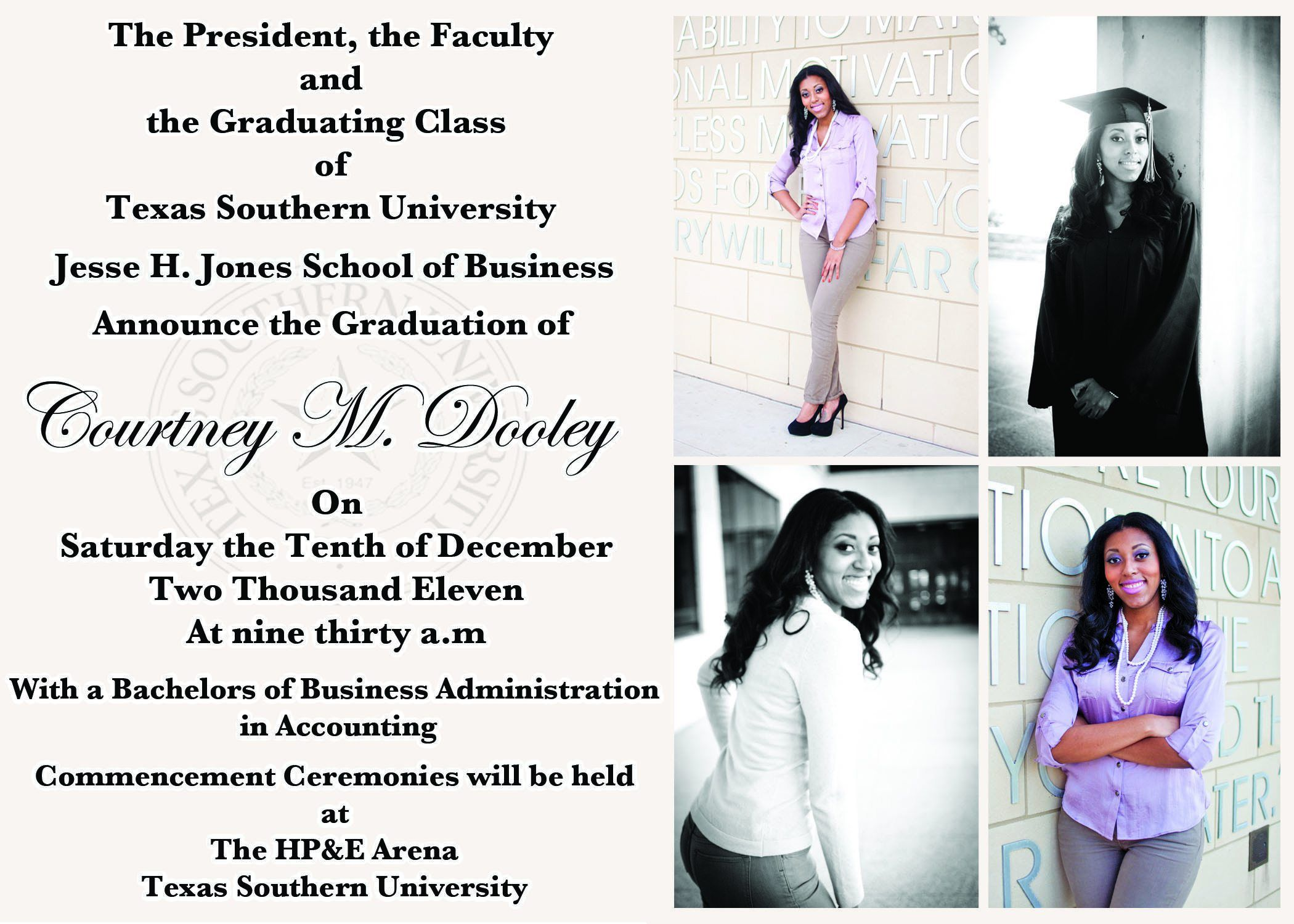 graduation invitation : Graduation invitation templates ...