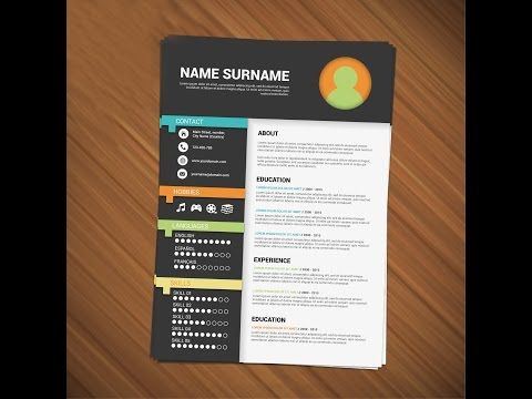 How To Design Your Resume Youtube Creative Resume Template Free Minimalist Resume Template Resume Design Template