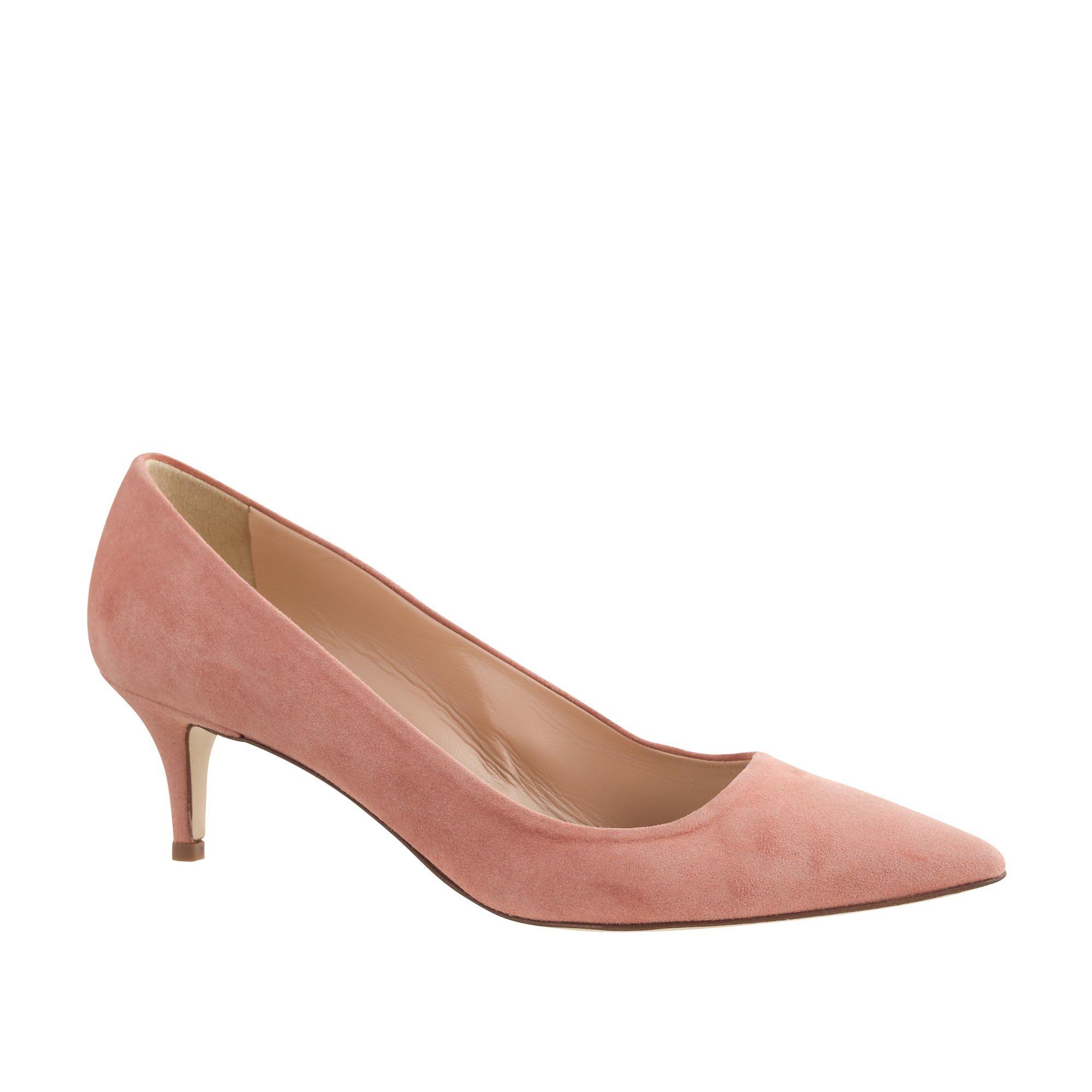 Dulci Suede Kitten Heels. $150 final sale | Best Foot