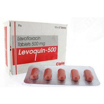 treatment antibiotic levaquin