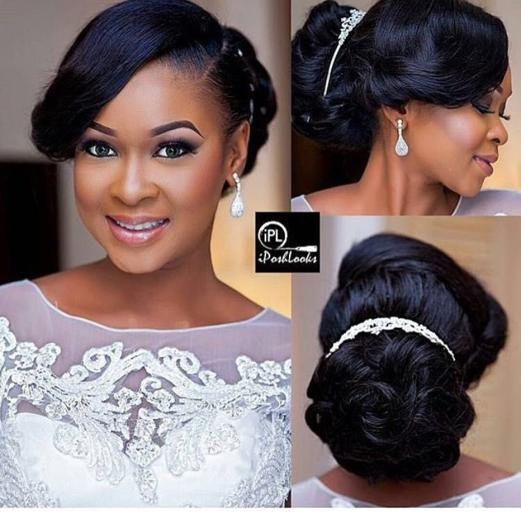 African American Wedding Hairstyles Braids: Pin By Robyn Moline On Wedding Makeup