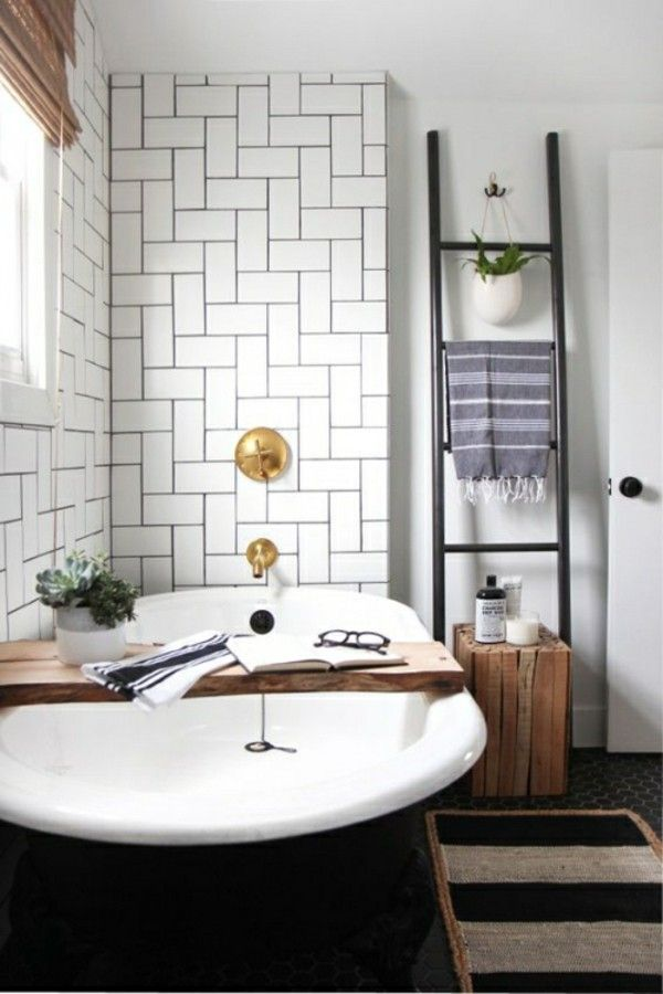 badezimmer einrichtung badewanne akzent Badezimmer Ideen - dekoration für badezimmer