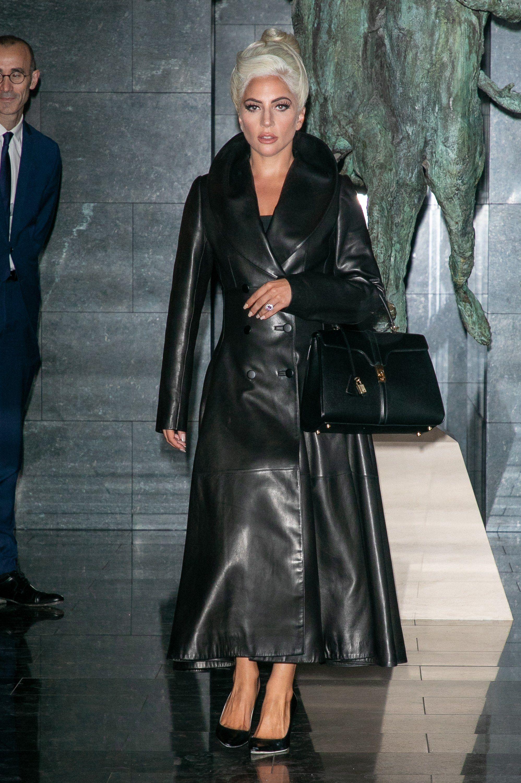 27a12c4db55b WHO  Lady Gaga WHAT  Azzedine Alaïa with a Céline by Hedi Slimane bag  WHERE  On the street