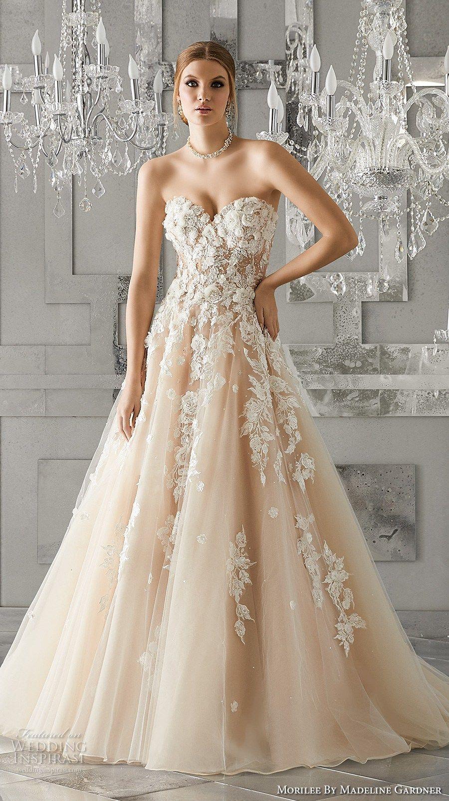 Mori lee madeline gardner wedding dress  Morilee by Madeline Gardner Fall  Wedding Dresses  Bridal