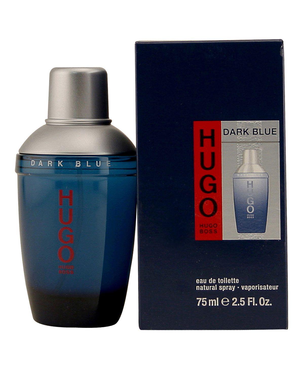 Hugo Dark Blue Eau De Toilette 2 5 Fl Oz Blue Man Hugo Boss Fragrance Hugo Boss