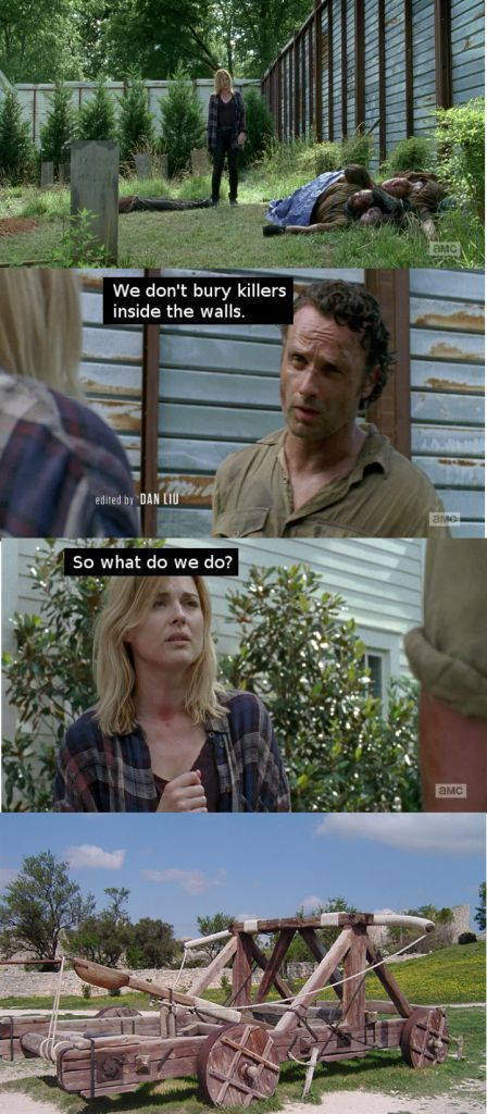 The Internet's Best Memes And GIFs From The 'Walking Dead' Season 6 Episode 6