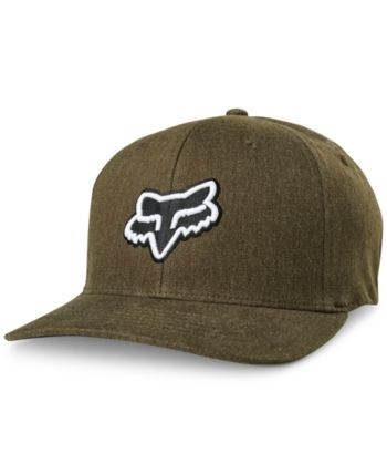 4d78b3f230a72 Fox Mens Transfer Flexfit Hat - Brown L XL