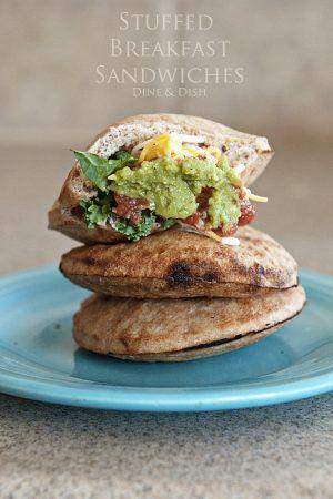 : Stuffed Breakfast Sandwiches}