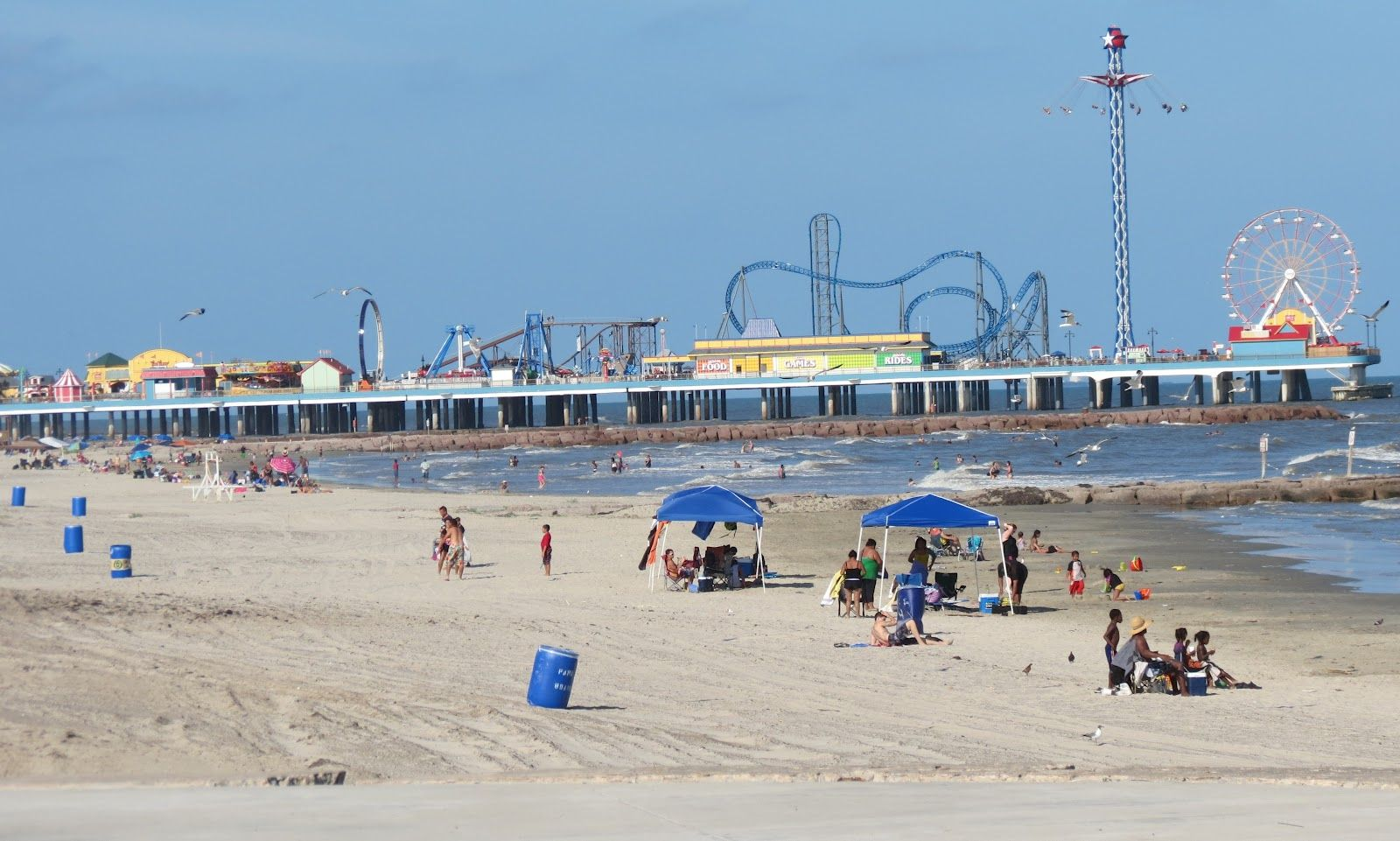 Pleasure Pier Galveston Tx Right Outside Houston Www Joneshousepublishing